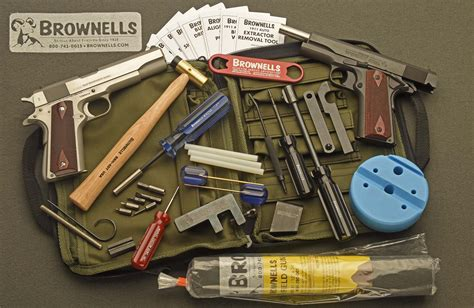 BROWNELLS ALL-IN-ONE GUN CLEANING SYSTEM Brownells