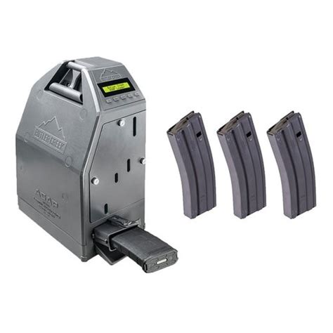 Brownells Ar15 Asap Electronic Magazine Loader W 3 30rd Magazines