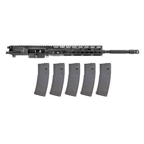 Brownells Ar15 Complete Upper Keymod 5 56 W 5pk 30rd Pmag