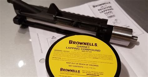 Brownells AR15 Upper Receiver Lapping Tool - It Works