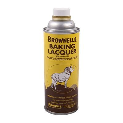 BROWNELLS BAKING LACQUER LIQUID Brownells