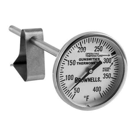Brownells Bluing Thermometer Thermometer Clip
