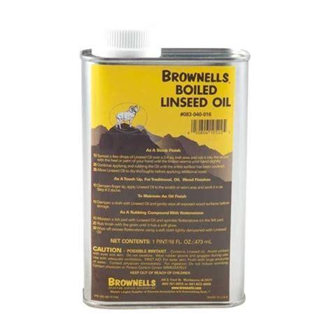 BROWNELLS BOILED LINSEED OIL Brownells