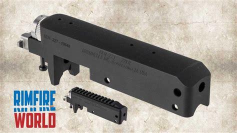 Brownells Brn22 Barreled Receiver For Ruger 1022 Brn22 Barreled Standard Receiver 16in Heavy Threaded