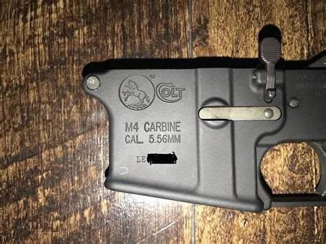 Brownells Colt Lower