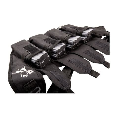BROWNELLS DELUXE MAGAZINE POUCH W 4-PK 30-RD PMAGS