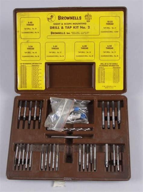 Brownells Drill Tap Starter Kit Basic Drill Tap Starter Kit