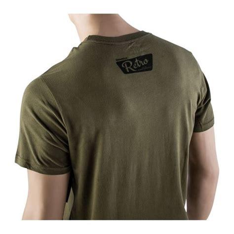Brownells Fine Cotton Retro Carbine Tshirts Fine Cotton Retro Carbine Tshirt Small Green