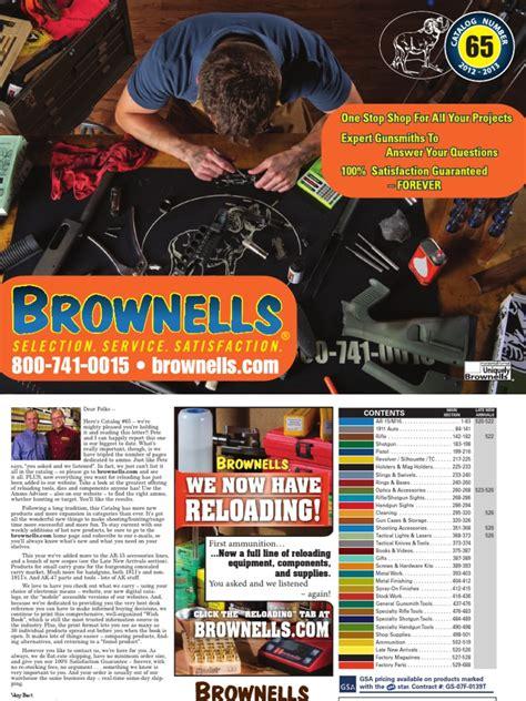 Brownells Free Catalog