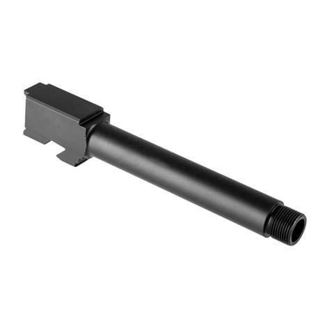 Brownells Full Size 9mm Barrels For Glock 17 Gen 14 G17 Full Size Barrel Gen 14 9mm Black