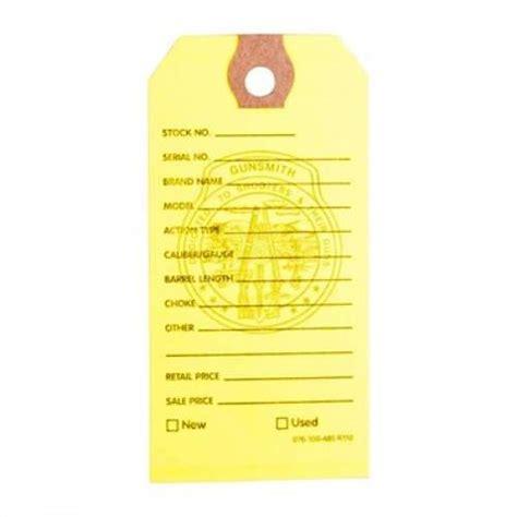 Brownells Gun Price Tags 100 Brownells Gun Price Tags Yellow