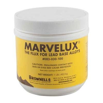Brownells Marvelux Bullet Casting Flux 4 Lb Marvelux