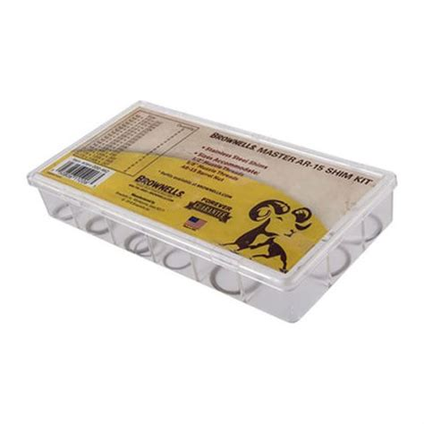 BROWNELLS MASTER AR-15 SHIM KIT Brownells