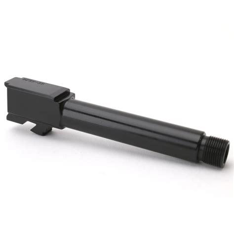 Brownells Match Grade Barrels For Glock19 G19 Barrel Threaded Gen 15 9mm Black Nitride