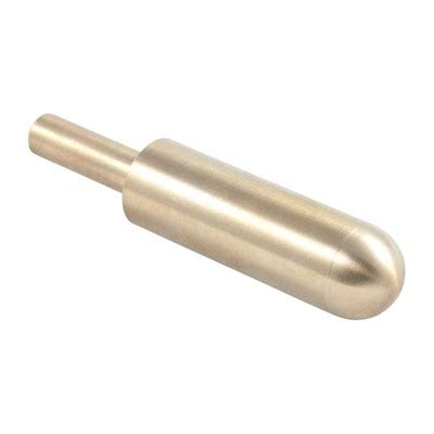 Brownells Power Custom Brass Muzzle Crowning Lap Non Handled Fits Bore 17 6 5mm Tip Radius 5 32