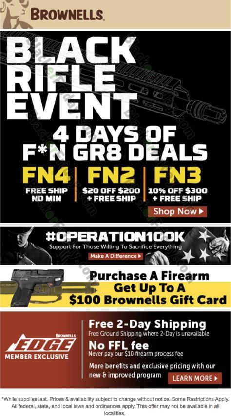 Brownells Pre Black Friday Sale