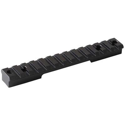 Brownells Remington 700 Short Action Picatinny Scope Base Remington 700 Short Action 0 Moa Aluminum Base
