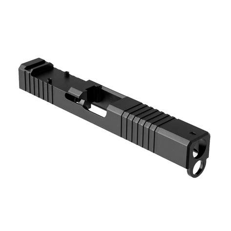 Brownells Rmr Cut Slide For Glock 17 Gen 4 Rmr Slide For Gen 4 Glock 17 Ss Nitride Wwindow