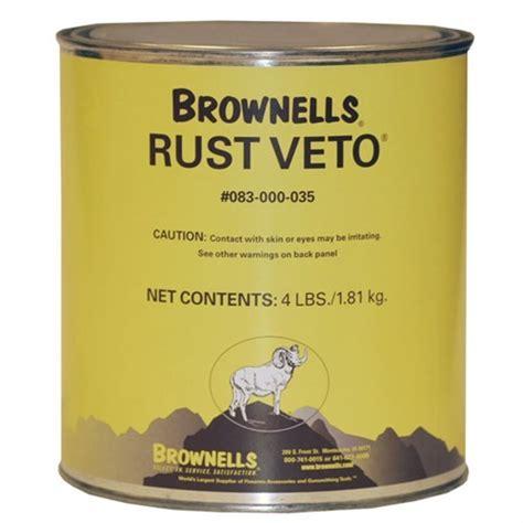 BROWNELLS RUST VETO Brownells