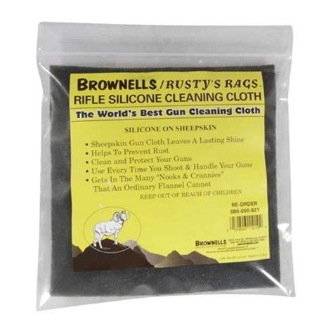 Brownells Rustys Rags Silicone Cleaning Cloth Brownells