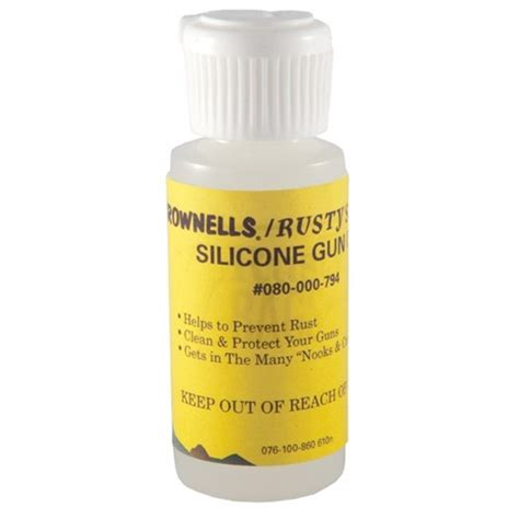 BROWNELLS RUSTYS RAGS SILICONE GUN OIL Brownells