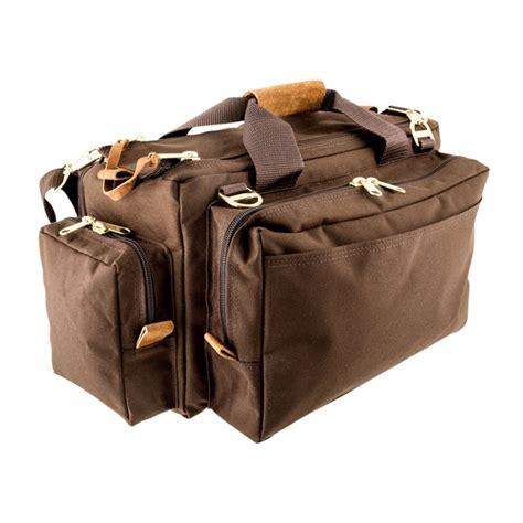 Brownells Signature Series Shooting Bag Signature Series Shooting Bag Dark Brown