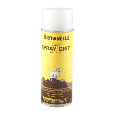 Brownells Spray Grit Clear Spray Grit
