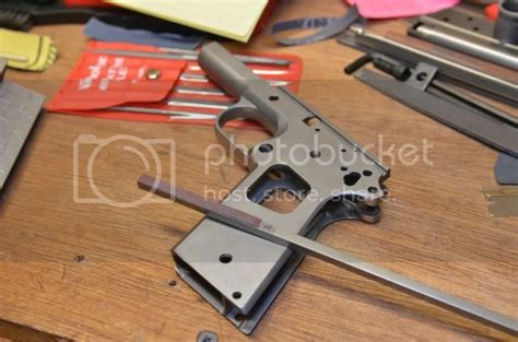 Brownells Spray Grit On The Front Strap 1911forum