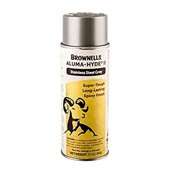 Brownells Stainless Steel Gray Alumahyde Finish