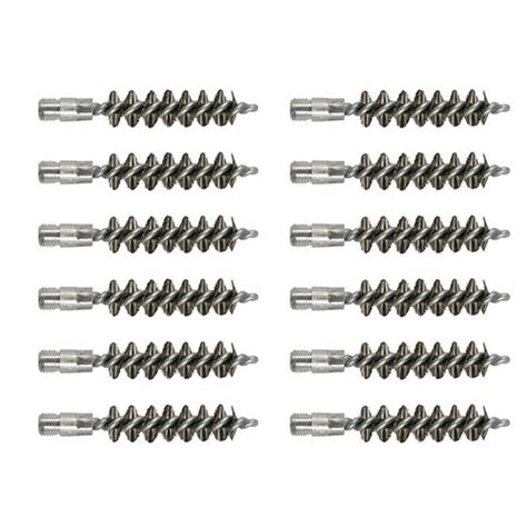 Brownells Standard Line Stainless Steel Bore Brushes 1 Dozen Ss 30 Rifle