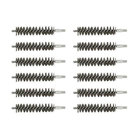 Brownells Standard Line Stainless Steel Bore Brushes 1 Dozen Ss 50 Bmg Rifle