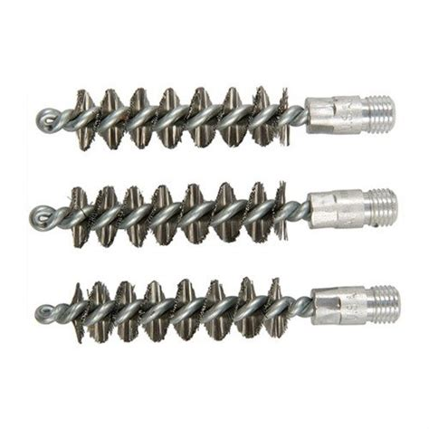 Brownells Standard Line Stainless Steel Bore Brushes 3 Ss 410 Bore Shotgun