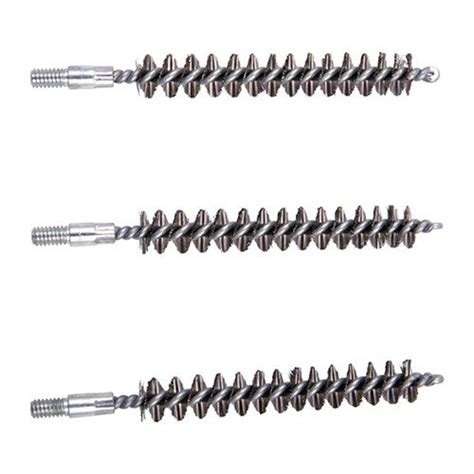 Brownells Standard Line Stainless Steel Bore Brushes 3 Ss 7mm Rifle