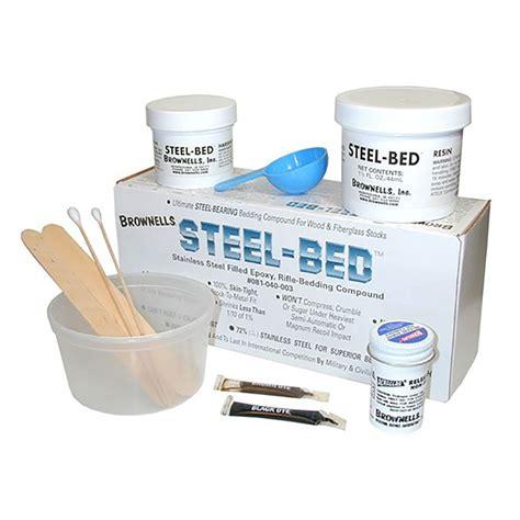 Brownells Steel Bed Kit