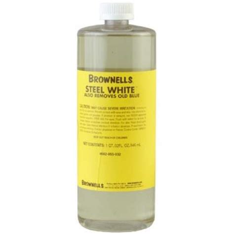 Brownells Steel White 1 Gallon