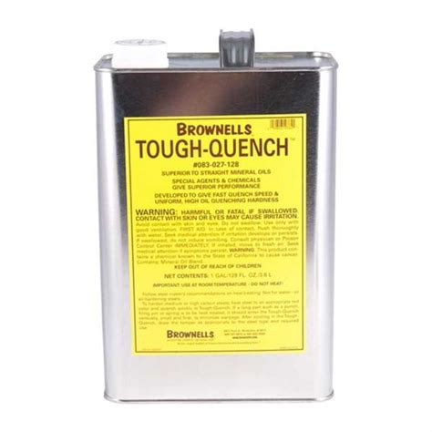 Brownells Toughquench Quenching Oil 1 Gal Toughquench