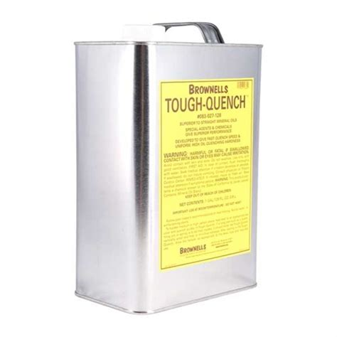 Brownells Toughquench Quenching Oil 1 Qt Toughquench