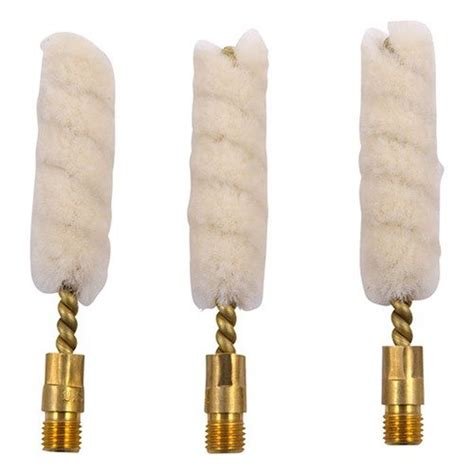 Brownells Wool Bore Mops Fits 12 Ga Per 3