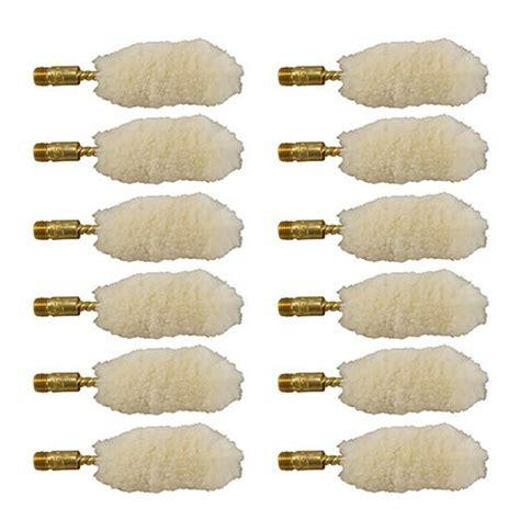 Brownells Wool Bore Mops Fits 12 Ga Per Dozen