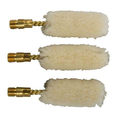Brownells Wool Bore Mops Fits 17 Per 3