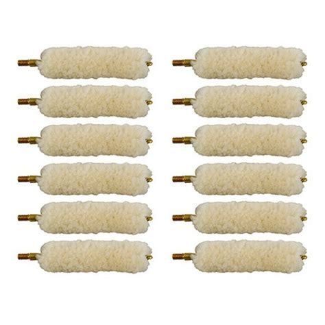 Brownells Wool Bore Mops Fits 4010mm Per Dozen