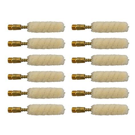 Brownells Wool Bore Mops Fits 410 Per Dozen