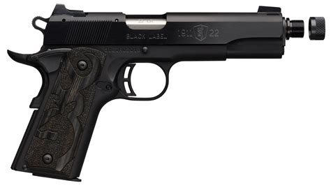 Browning 1911 22 Replacement Threaded Barrel