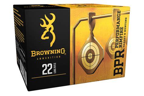 Browning 22 LR 40 Gr Round Nose BPR Performance 400 Round