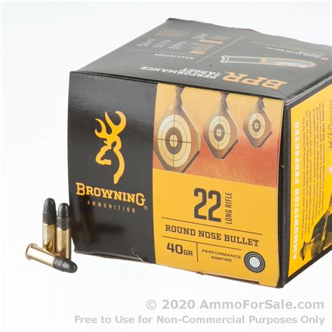 Browning 22 Lr Ammo Review