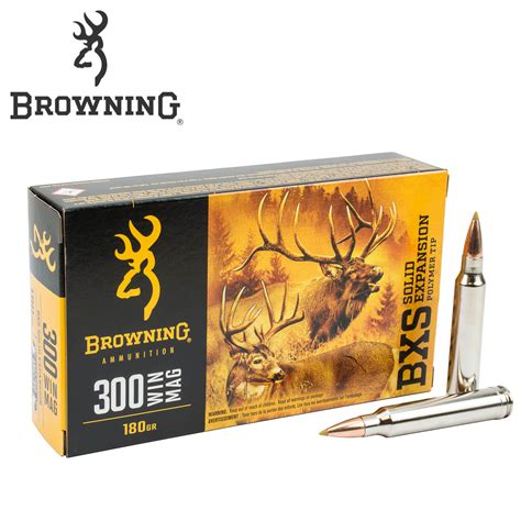 Browning 300 Win Mag Ammo Specs
