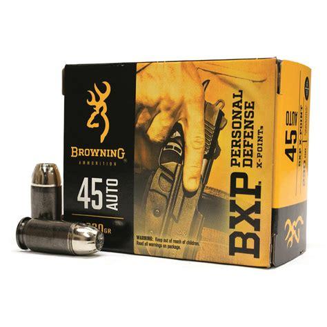 Browning 45 Acp Ammo Reviews You Tube