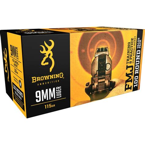 Browning 9mm Ammo