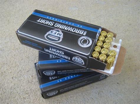 Browning 9mm Short Ammo