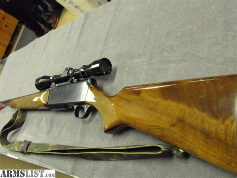 Rifle-Scopes Browning Bar 30-06 Rifle And Scope.